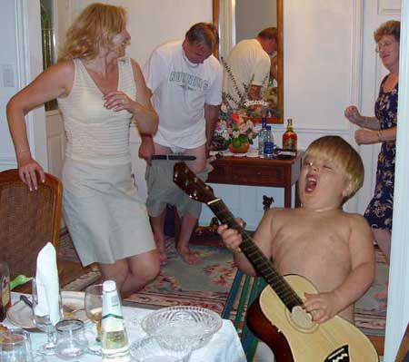 How would you title this picture Funny People Picture