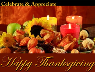Celebrate & Appreciate Happy Thanksgivning