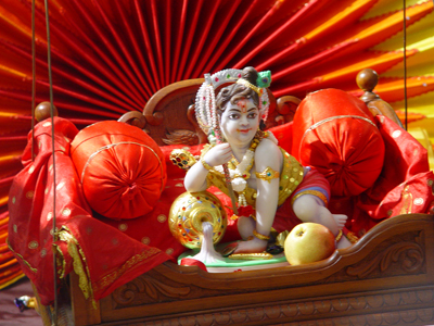 Childhood Picture of Lord Krishna