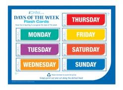 Days of the Week Picture