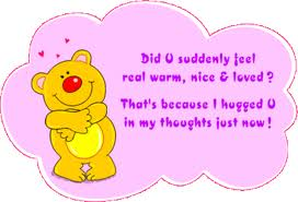 Did you Suddenly Feel Real Warm Nice & Loved ?