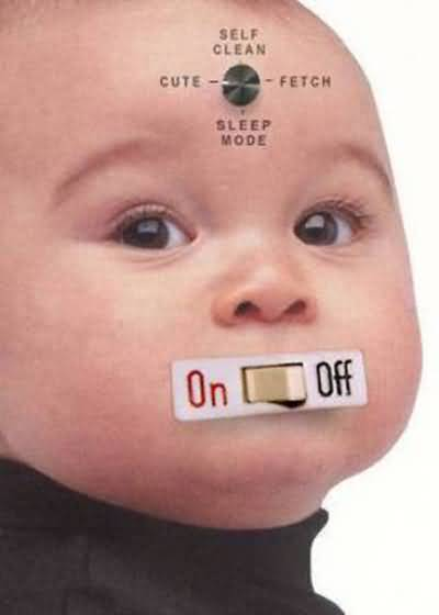 Funny Automatic Baby Foto