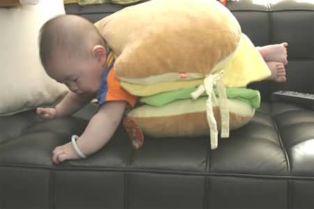 Funny Baby Activities Picture
