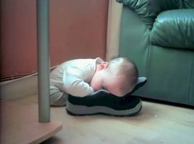 Funny Baby So Tired Funny Baby Image