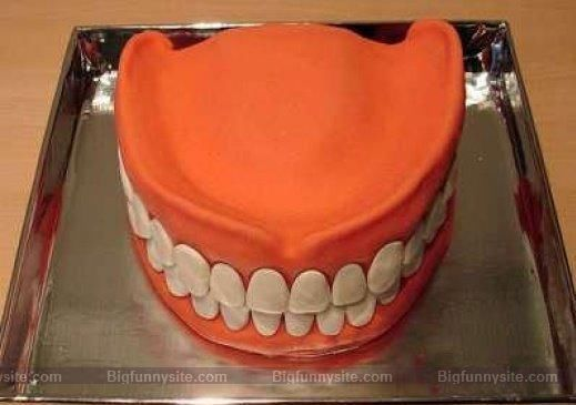 Funny Jaw Cake Picture for Orkut