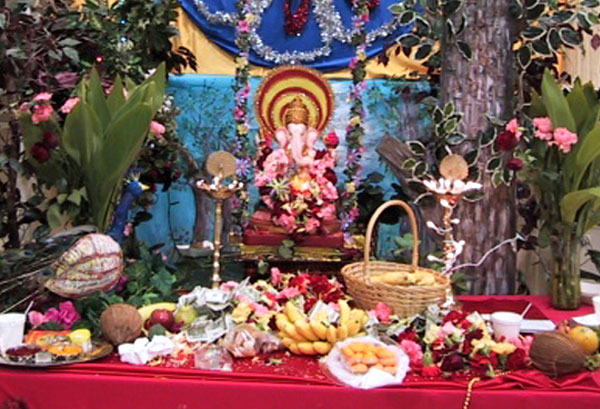 Ganesh Chaturthi Puja Picture