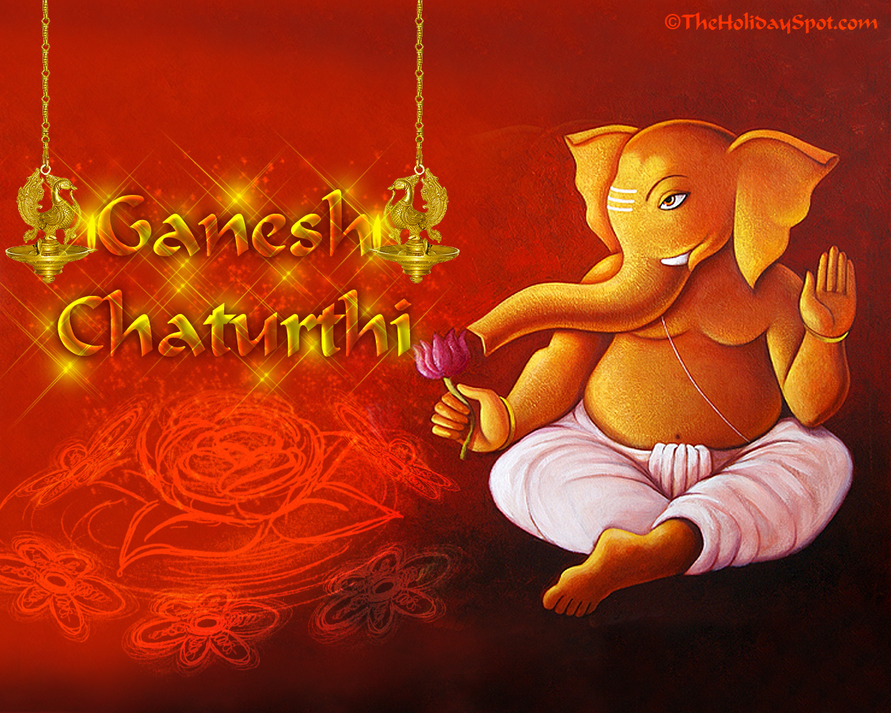 Ganesh Chaturthi Wallpaper for fb Share