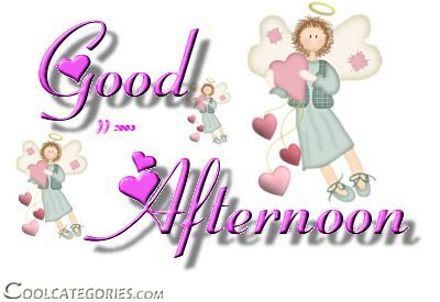 Good Afternoon Angels Graphic