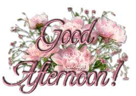 Good Afternoon Flowers Graphic for Orkut