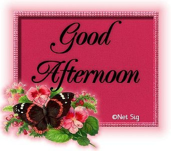 Good Afternoon Greetings