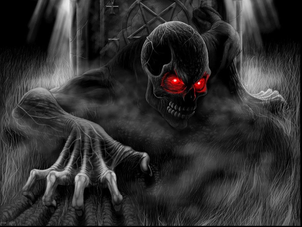 Halloween Skull Picture