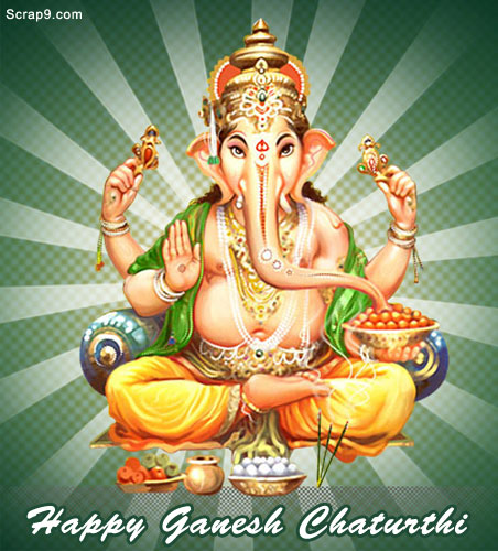 Happy Ganesh Chaturthi Image for Fb Share