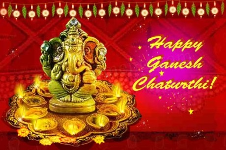 Happy Ganesh Chaturthi ! Picture for Fb Share