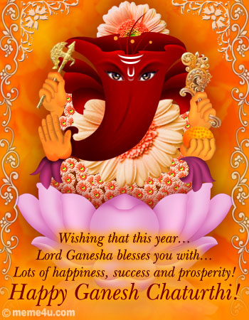 Happy Ganesh Chaturthi !