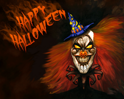 Happy Halloween Joker Picture for Fb Share