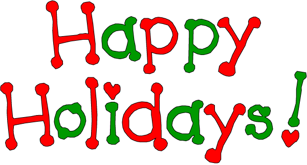 Happy Holidays Colourful Scrap for Orkut