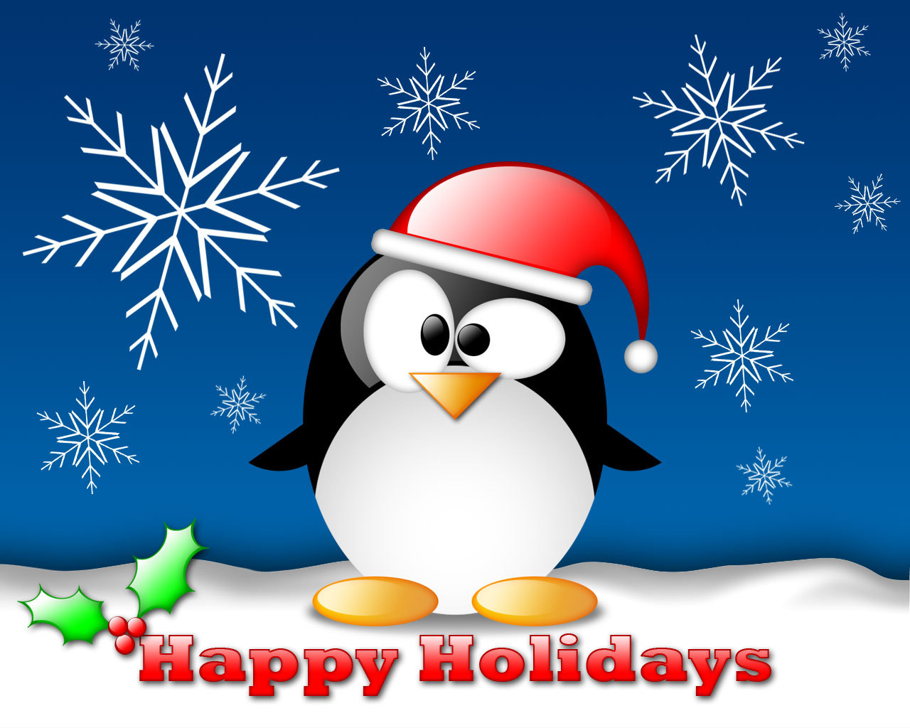 Happy Holidays Graphic for Facebook Sharing