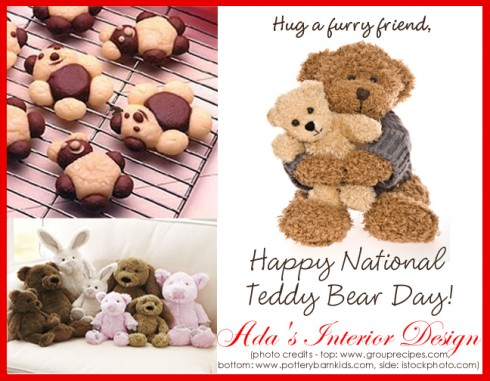 Happy National Teddy Bear Day