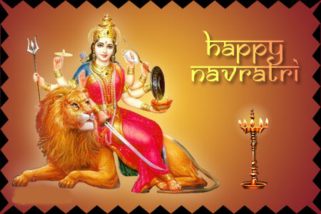 Happy Navratri Picture for Fb Share