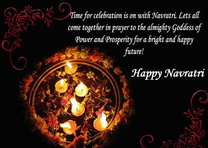 Happy Navratri Scrap for orkut