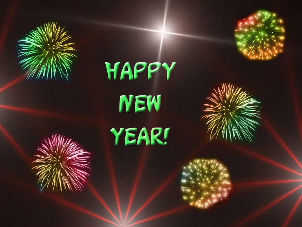 Happy New year ! Graphic for Facebook Share