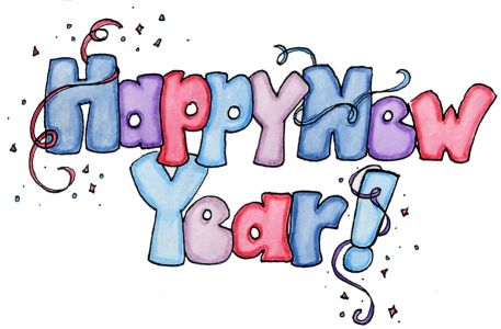 Happy New Year ! Scrap for Orkut