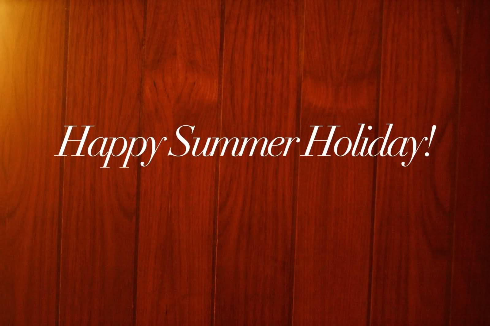 Happy Summer Holidays Scrap for Orkut