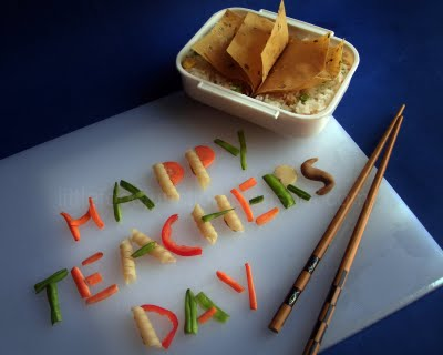 Happy Teachers Day Graphic for Friendster