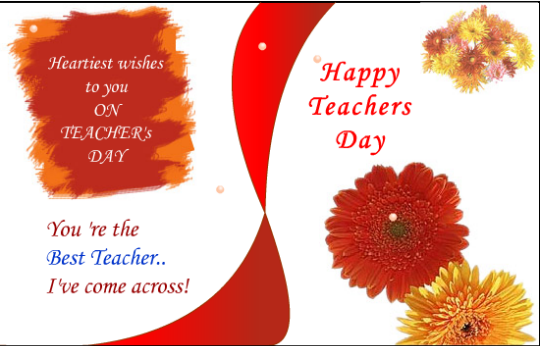 Happy Teachers Day Greetings for Fb Share