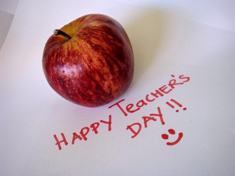 Happy Teachers Day smiley