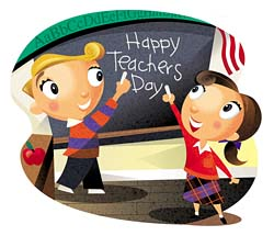 Happy Teachers Day Students Picture