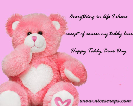 Happy Teddy Bear day picture