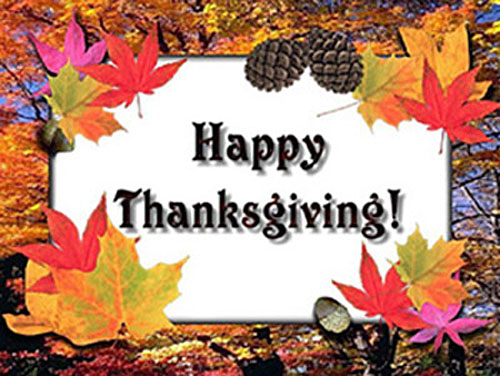 Happy Thanksgiving Graphic for Facebook Sharing