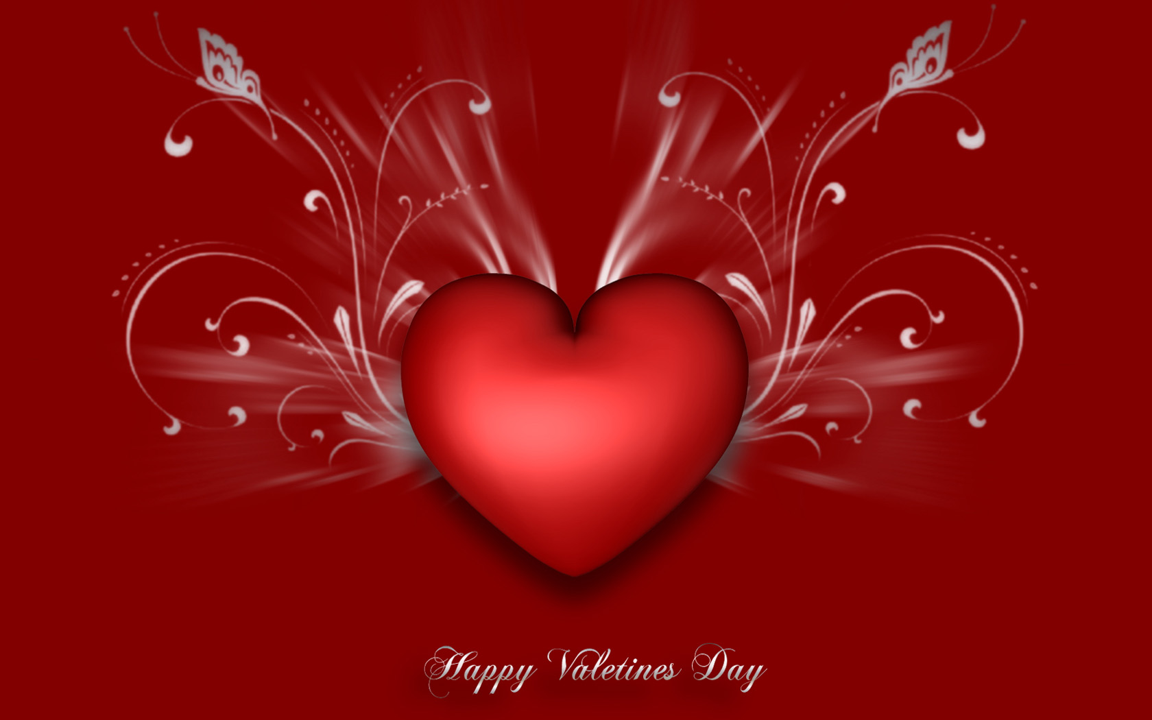 Happy Valentines Heart Picture for fb Share