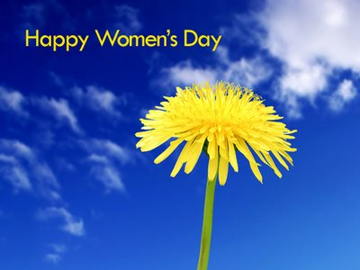 Happy Women's Day Flower Picture