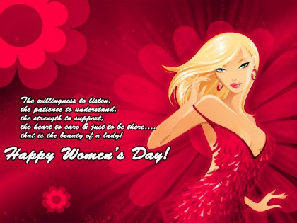 Happy Women's Day Graphic for Fb Shae