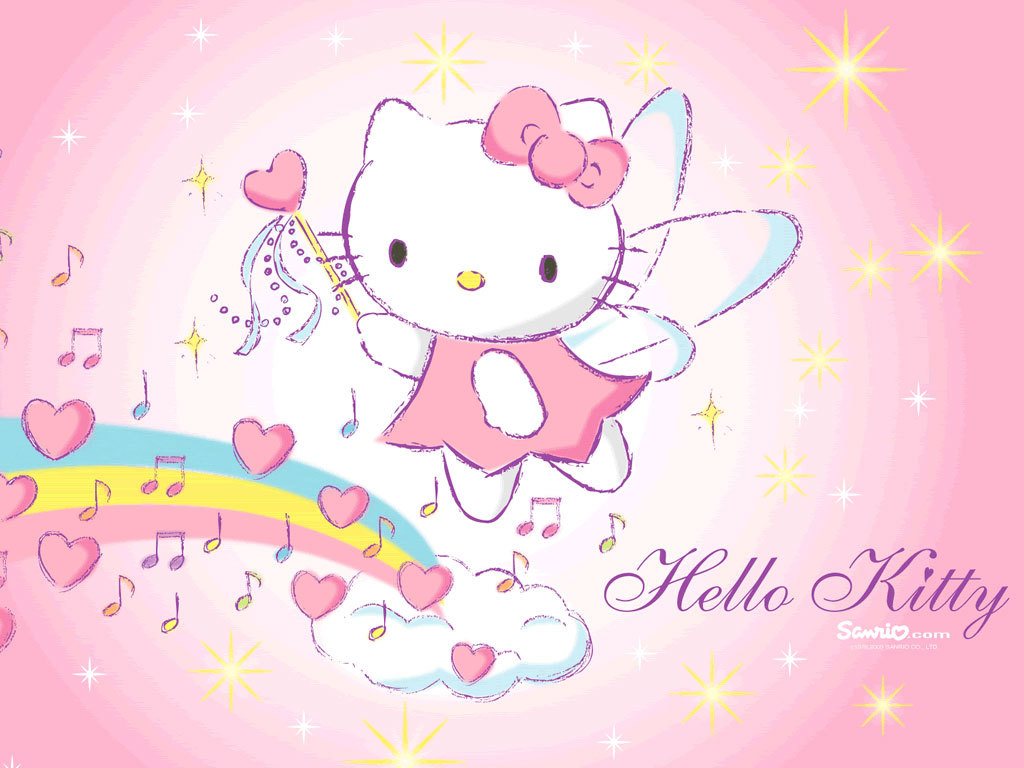 Hello Kitty graphic for Fb Share