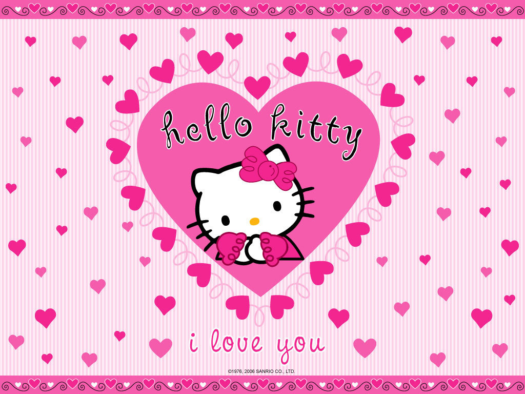 Hello Kitty I Love You