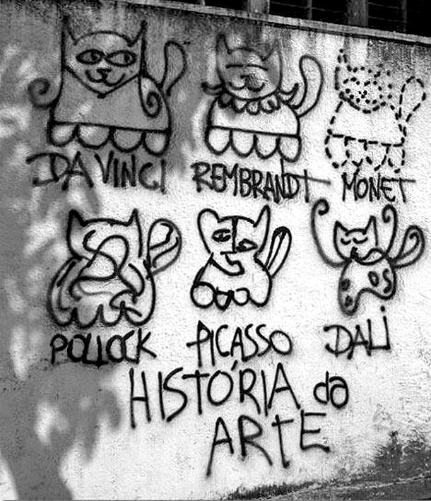History of Art. Funny Quote Image
