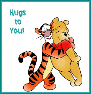 Hugs to You Teddy Picture
