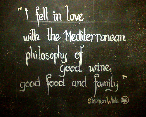 I Fell In Love with the Mediterraneam Philosophy of Good Wine