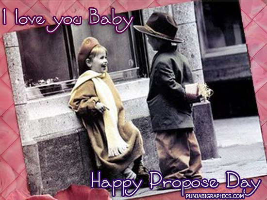 I Love you baby Happy Propose Day