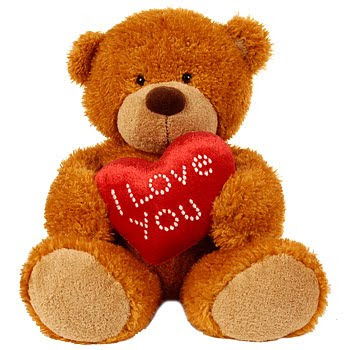 I Love You happy Teddy bear Day Picture