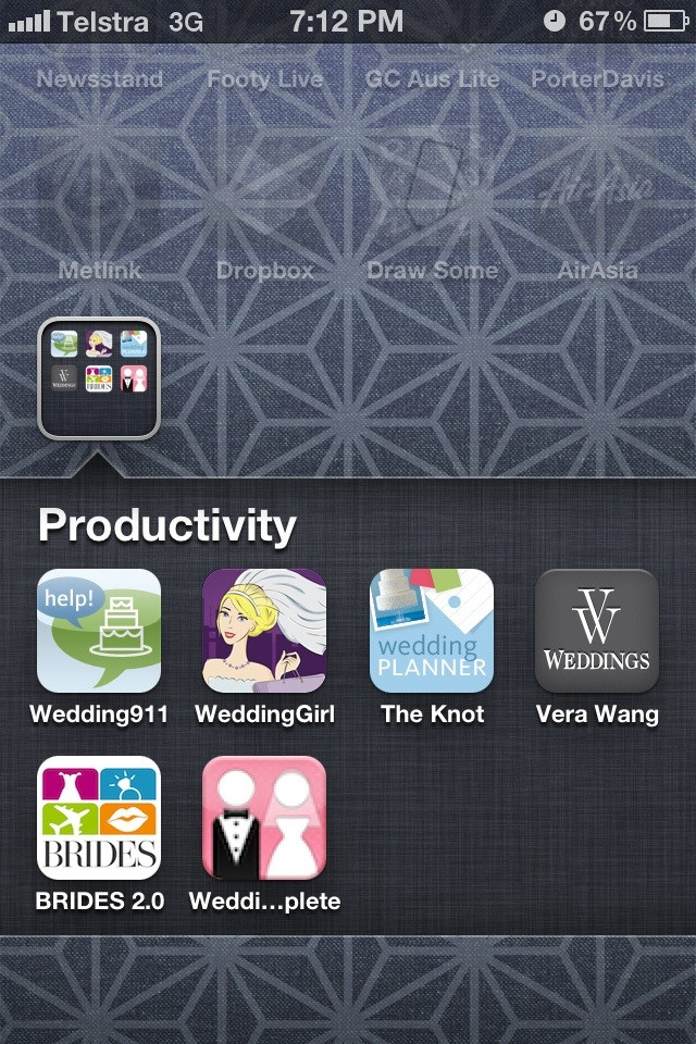 I opened the 'Productivity' folder on my girlfriends iPhone Funny Cartoon Image