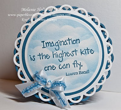 Imagination is the Highest Kite One Can Fly