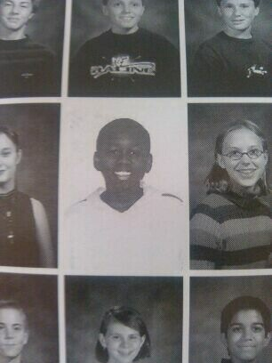 In my middle school yearbookFunny Men Picture