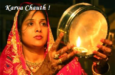 Karva Chauth a New Married Girl