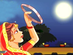 karva Chauth Night Picture