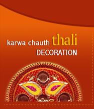 Karwa Chauth Thali Decoration