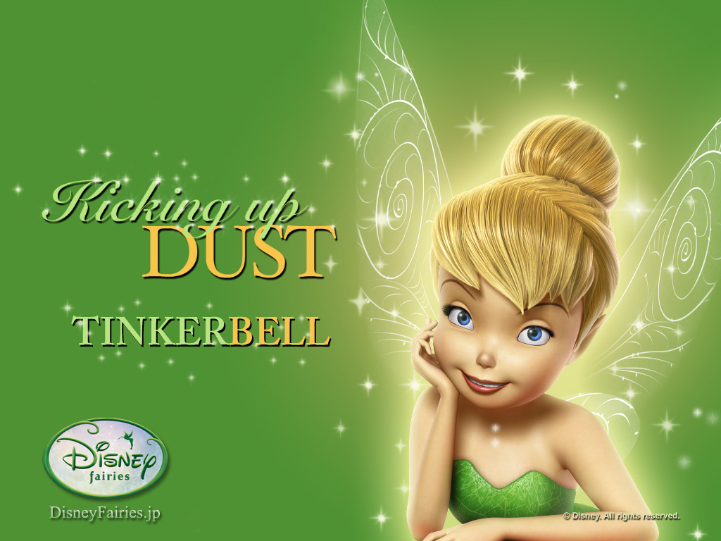 Kicking up Dust Tinkerbell